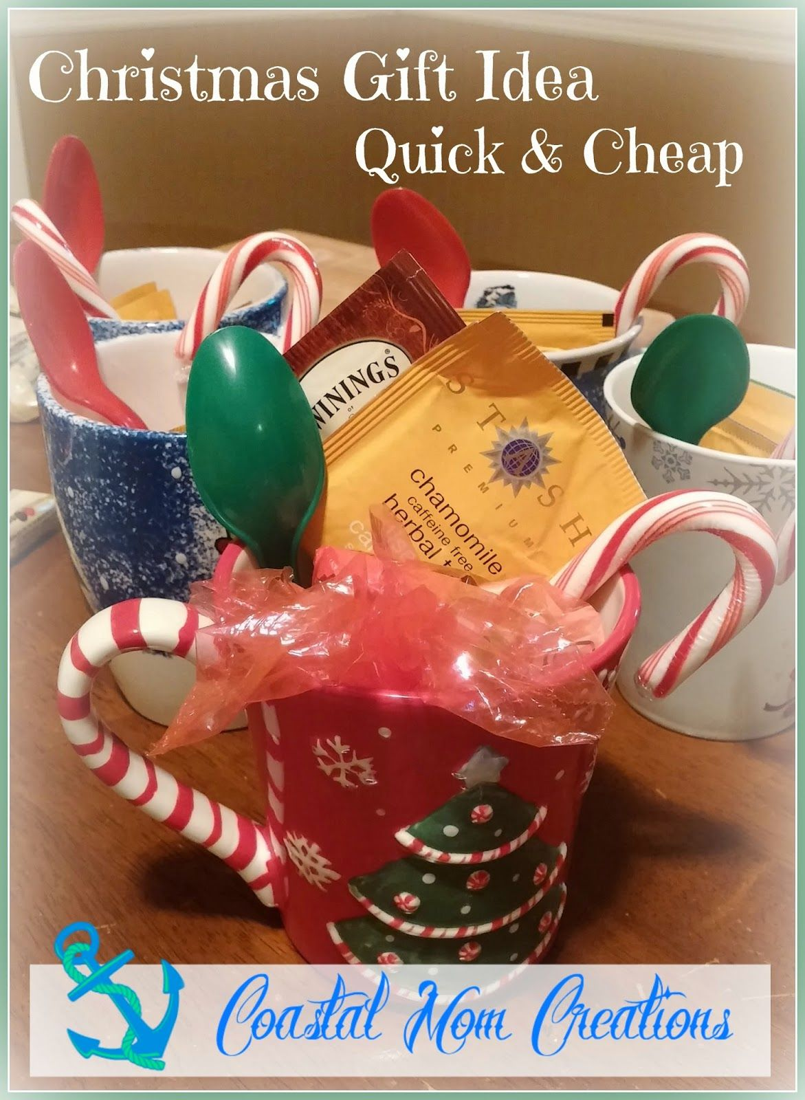 Quick, Easy, Inexpensive Christmas Gift Idea! Great for office ...