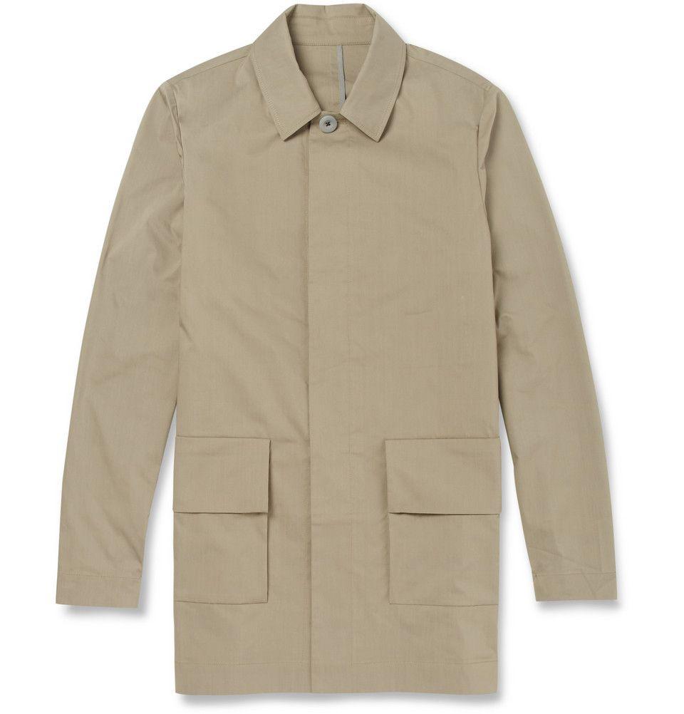 99e7b8c8c Folk - Lightweight Cotton-Blend Raincoat   MR PORTER   Men's ...