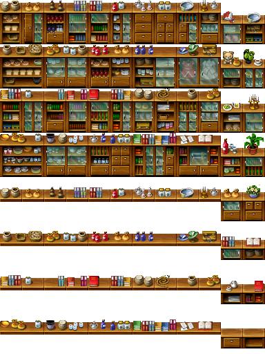 RPG Maker Tile - Furniture by Ayene-chan deviantart com on