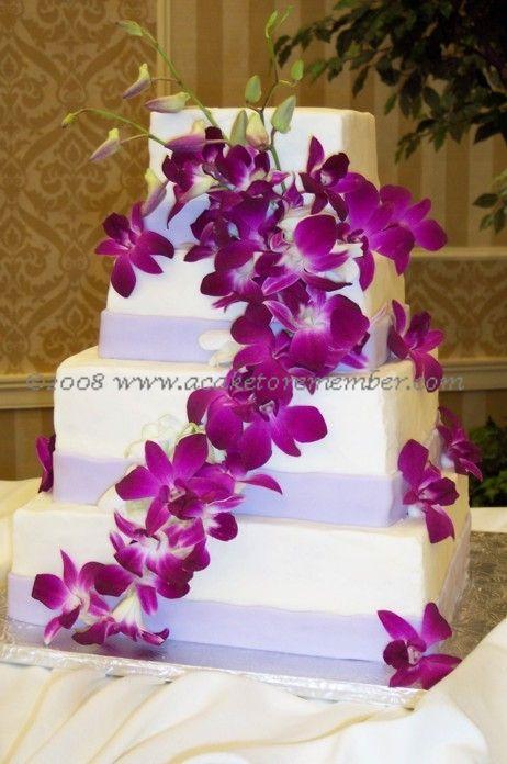 Orchid Cake If I Didn T Have A Full N Hawaiian Wedding