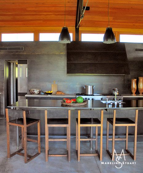 Montana Ranch House By Suyama Peterson Deguchi: Kitchen In A Montana Ranch Home By Madeline Stuart (com