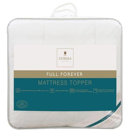 dorma full forever mattress topper dunelm best. Black Bedroom Furniture Sets. Home Design Ideas
