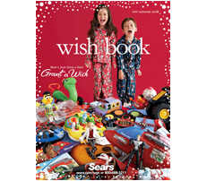 Free Sears Wish Book (US/CDN) -- You can get a free copy of