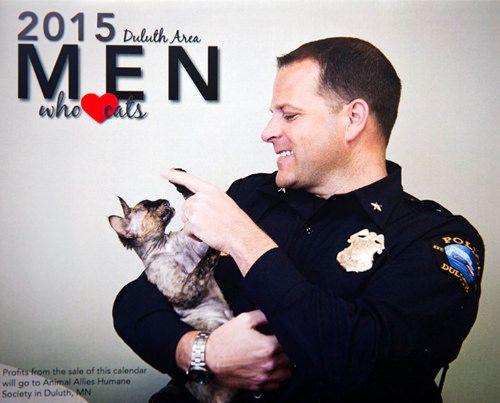 Cat Product Roundup Men And Cats Calendars Gatos Hombres