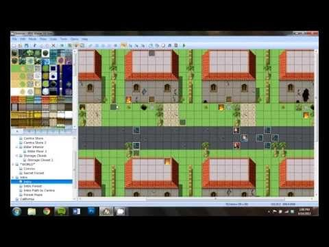 ▷ Creating a Complex Intro Scene in RPG Maker VX Ace (Let's
