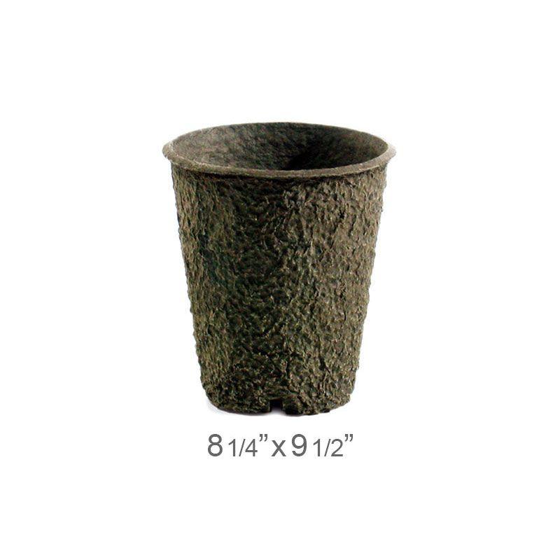 Diy Biodegradable Pots: Western Pulp Round Pots