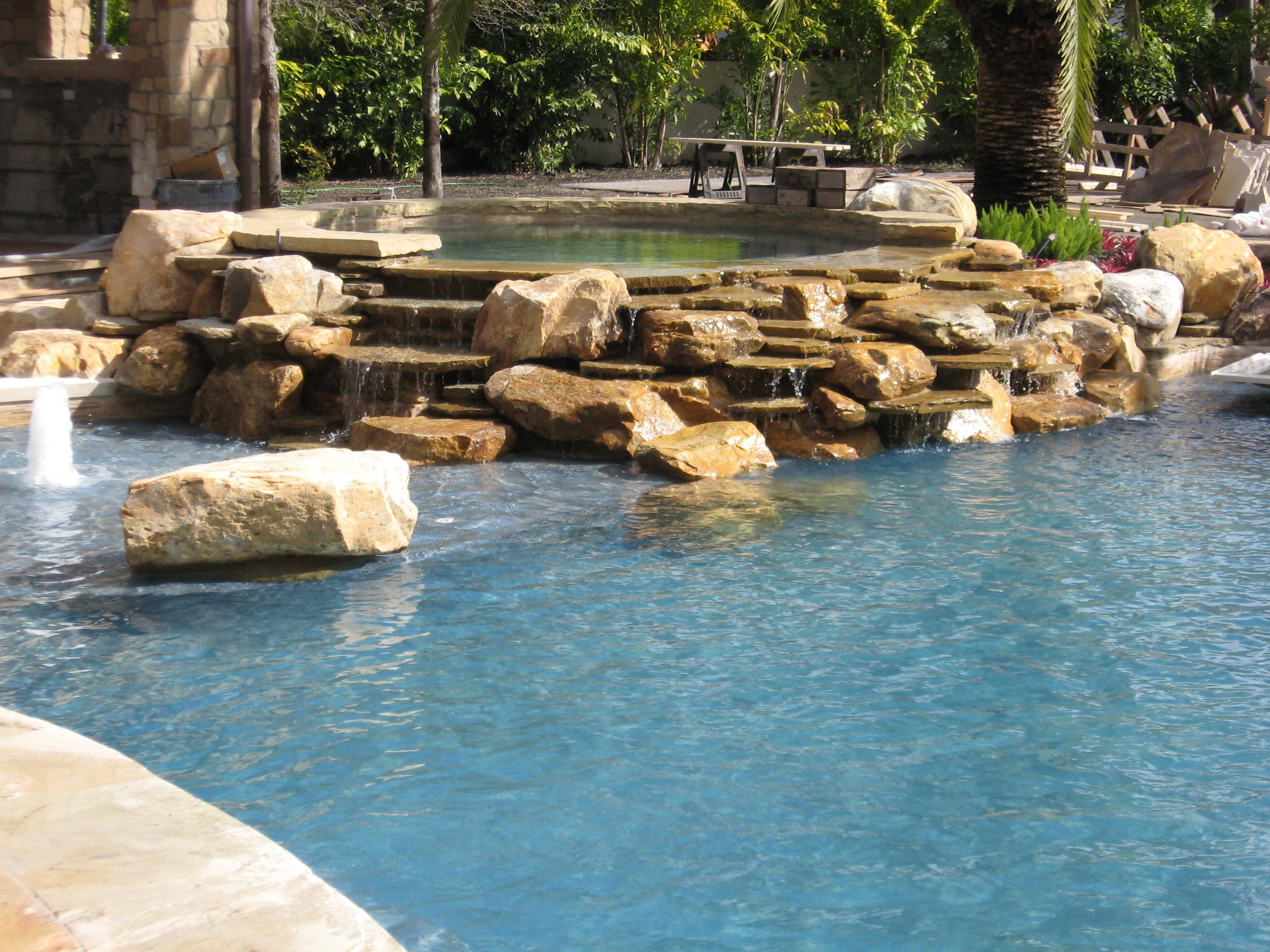 Exotic Stone Hot Tubs And Pools - Stone Hot Tub
