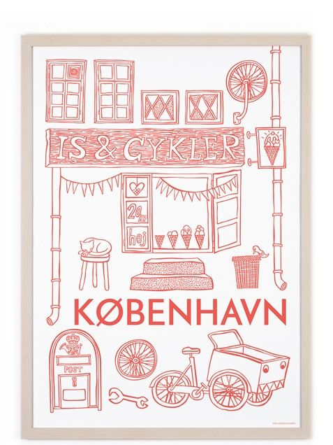 kopenhagen poster 50x70cm human empire shop inspiration pinterest empire poster city. Black Bedroom Furniture Sets. Home Design Ideas
