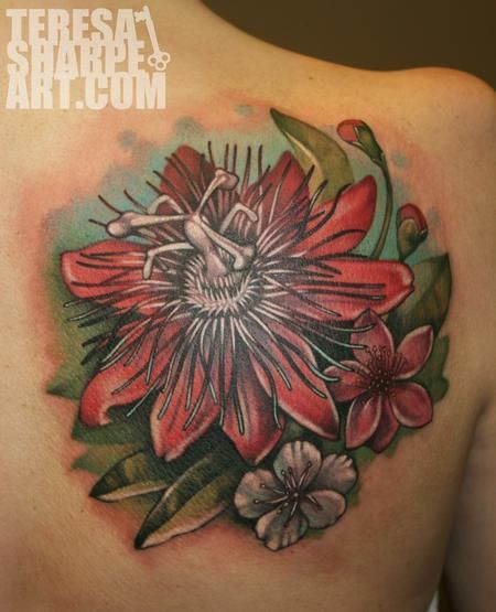 Flowers For Passion Flower Vine Tattoo Flower Vine Tattoos Vine Tattoos Tattoos