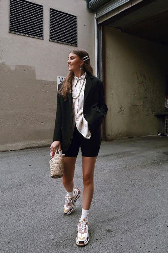 wear BALENCIAGA Triple S Sneakers