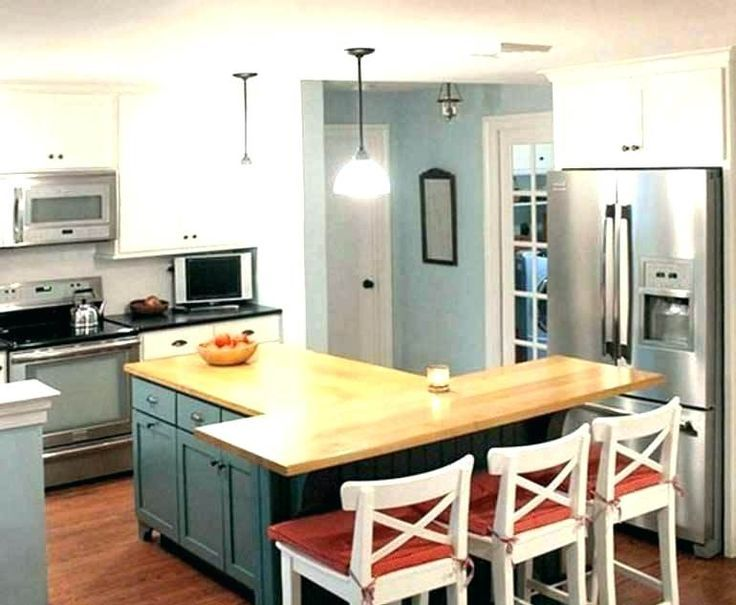 t shaped kitchen island t shaped kitchen island with wooden u layout odd shaped kitchen on t kitchen ideas id=94473