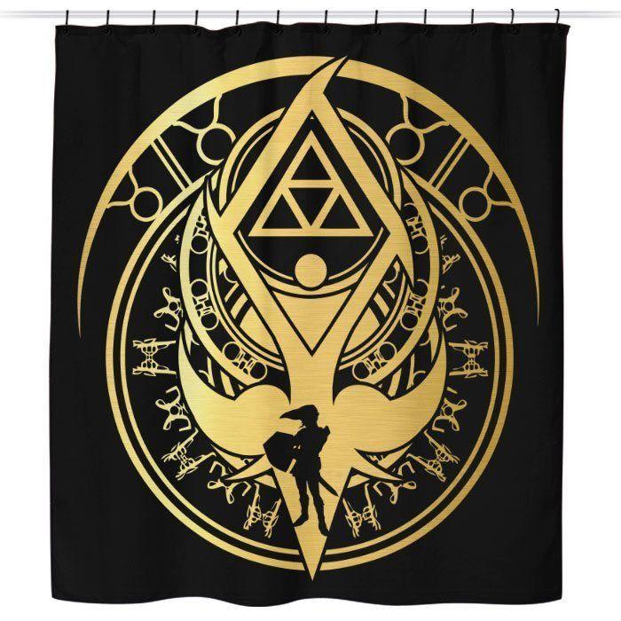 The Twilight Hero   Shower Curtain