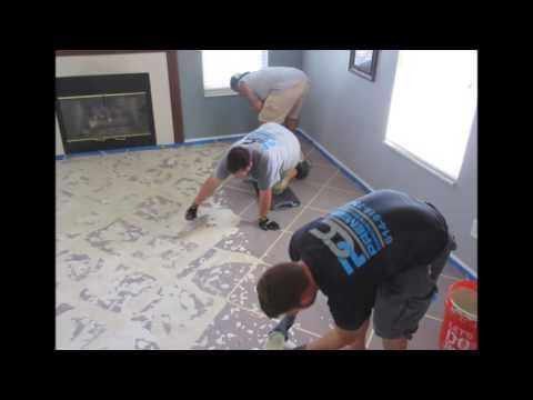 How Stain Concrete Columbus Ohio Stained Slate Tile