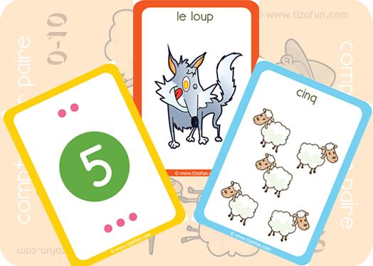 compter-par-paire icone | loup | Pinterest | Nombres