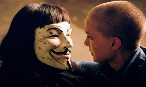 Natalie Portman Hugo Weaving V De Vendetta James Mcteigue V For Vendetta Vendetta V For Vendetta 2005