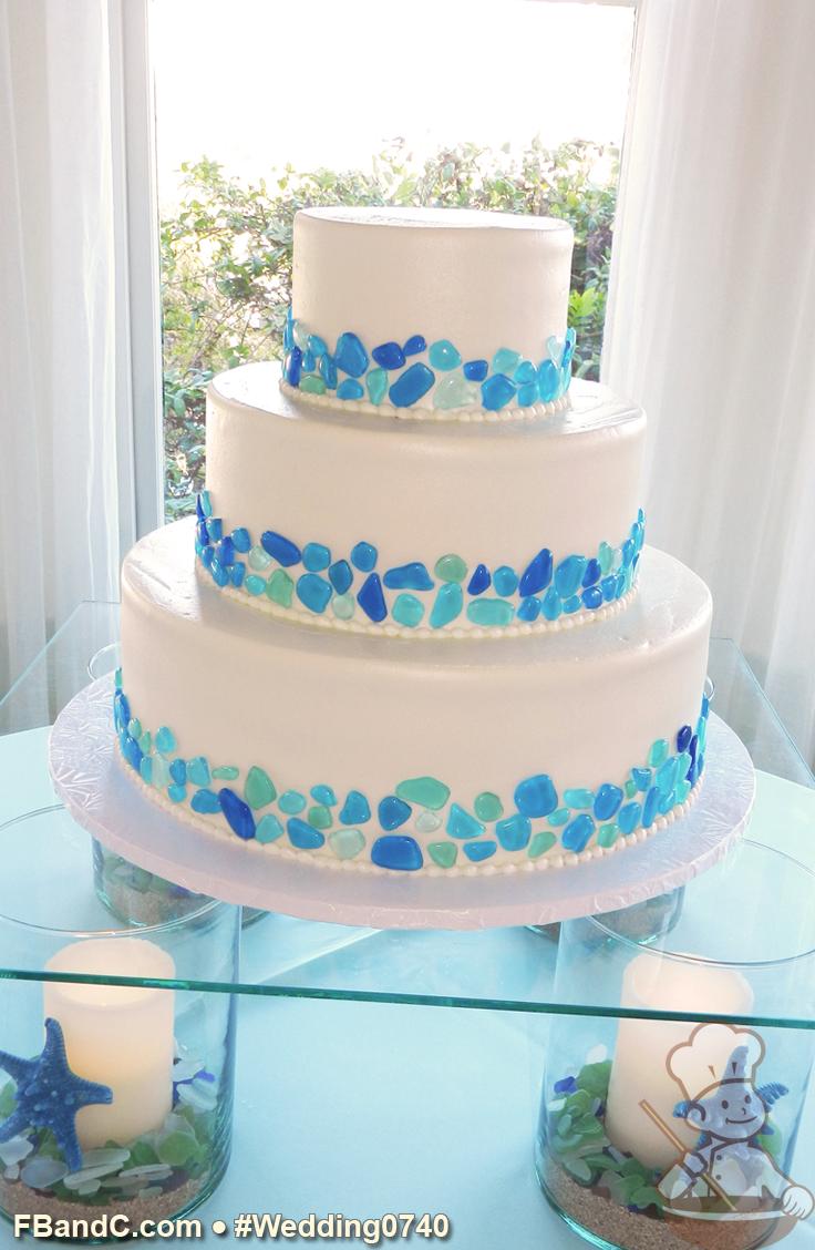 Design W 0740 | Butter Cream Wedding Cake | 14\
