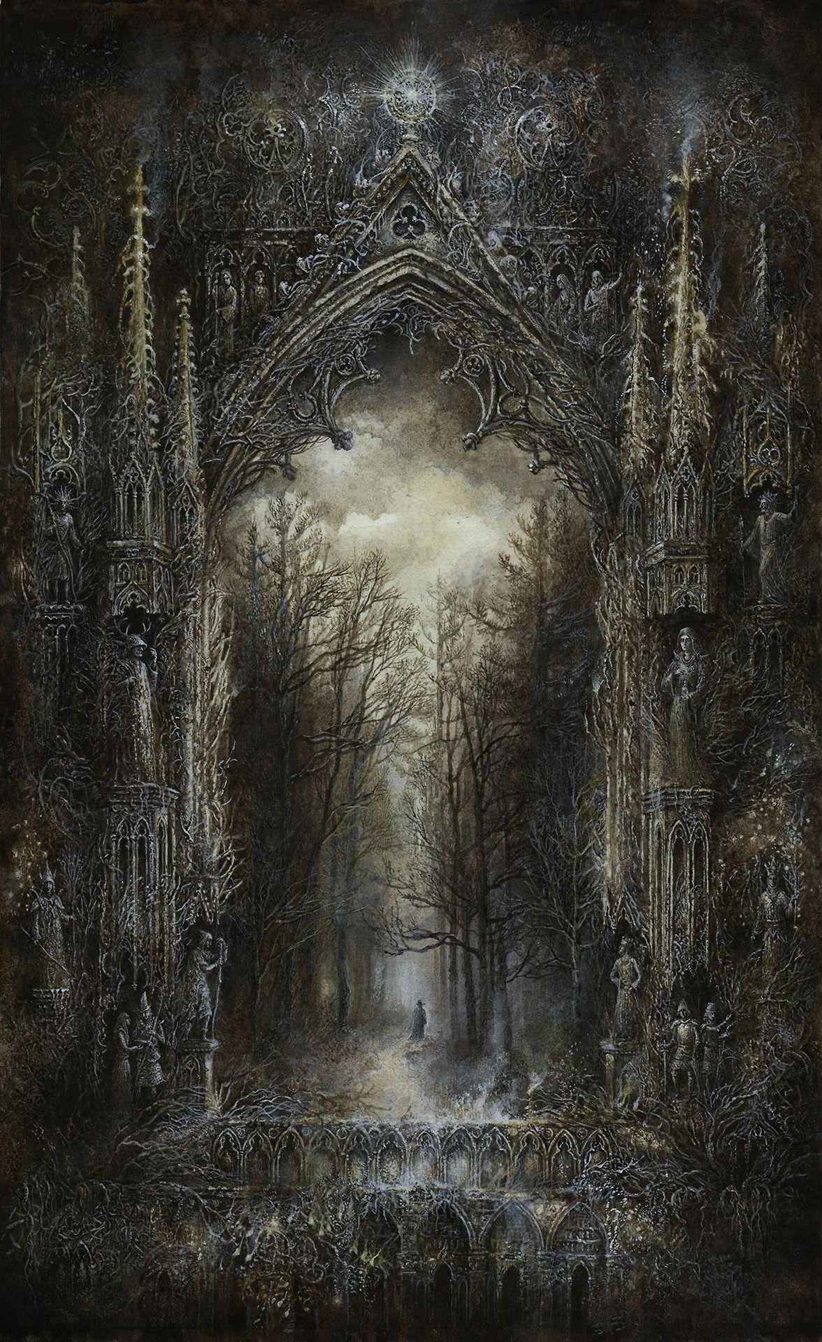 Dark Renaissance Art Painting