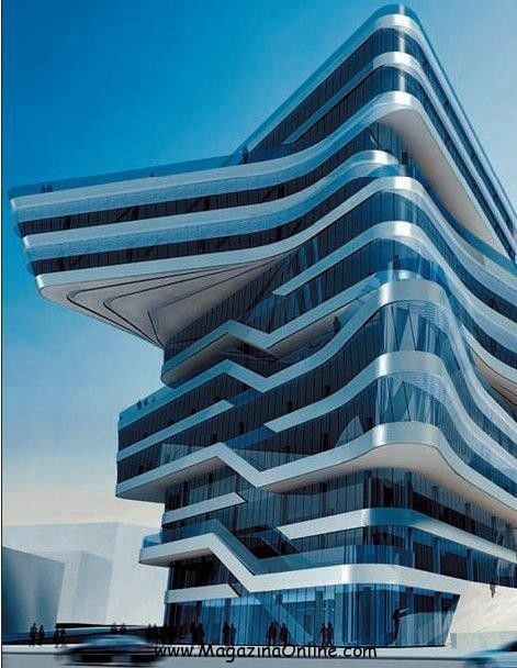 Amazing and strange building from around the world for Architecture buildings around the world