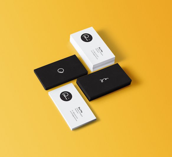 50 Of The Best Business Card Designs Cool Business Cards Business Card Design Inspiration Business Card Design