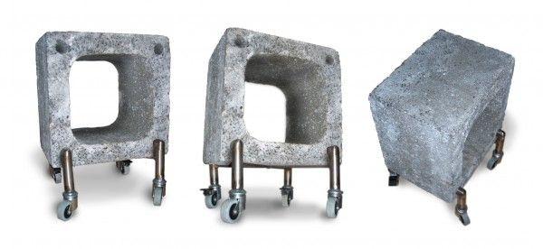 Hole Block Cool Concrete Diseno De Interiores Cemento Y