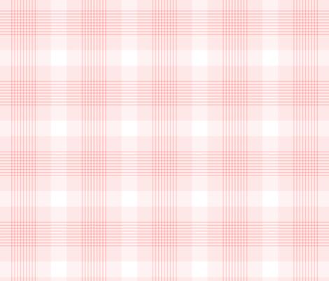 Fabric by the Yard Blush Pink Plaid Pattern