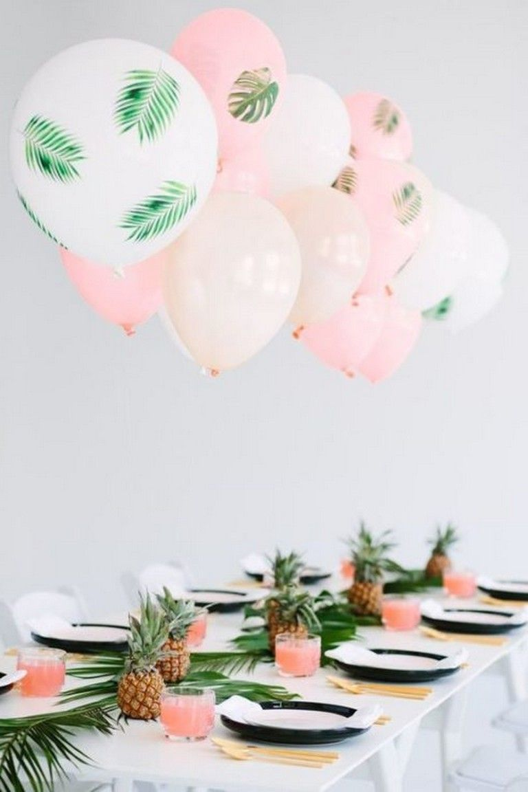 21 Best Birthday Party Idea Will Not Be Forgotten #tropicalbirthdayparty