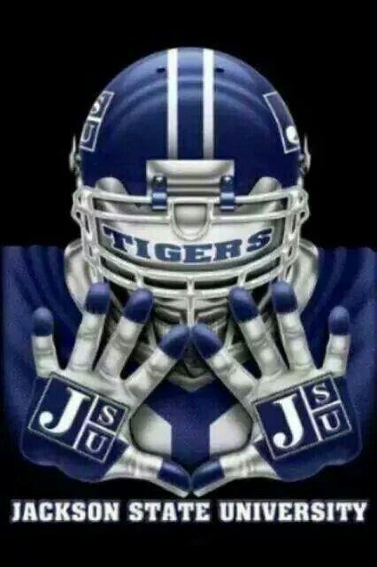 Jackson State University Jackson State Jackson State University College Football Helmets