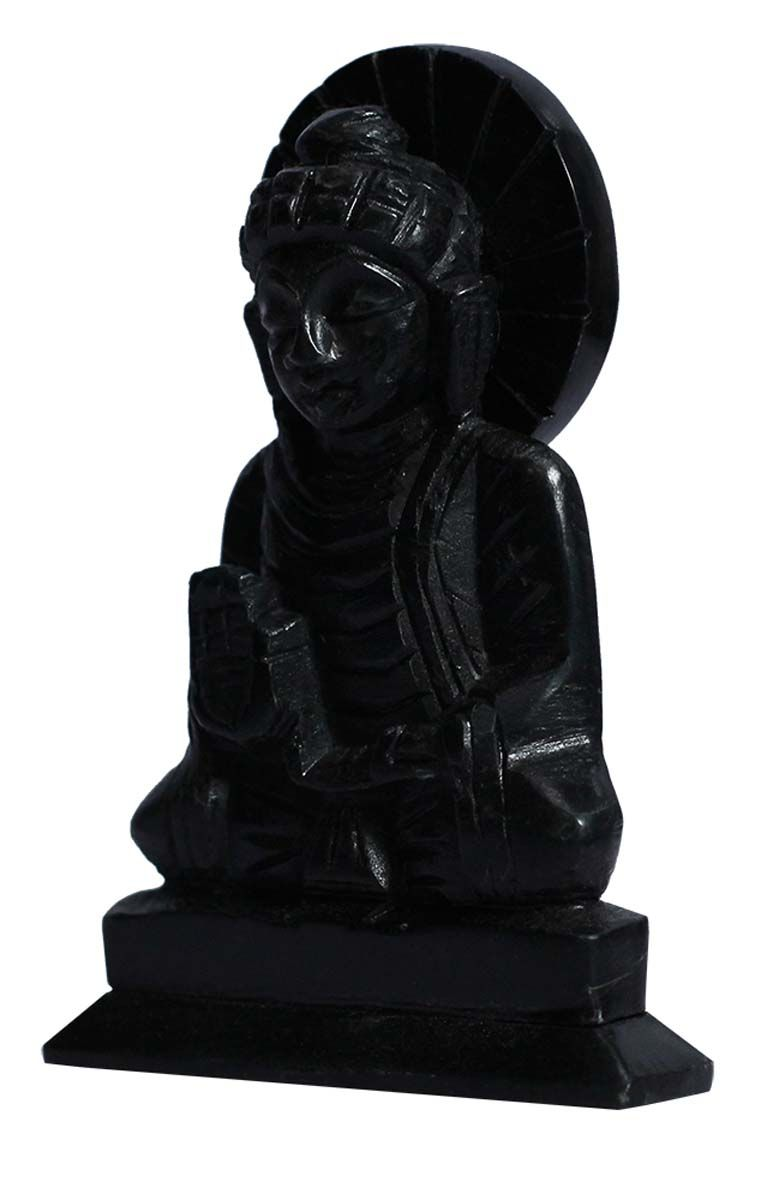 Bulk Wholesale Lord Buddha Sculpture in Black Palewa Stone