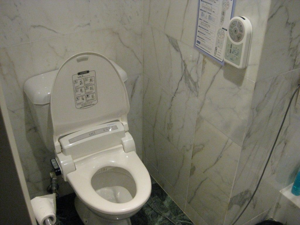 Toilet with Bidet - Find more info at DisabledBathrooms.org ...
