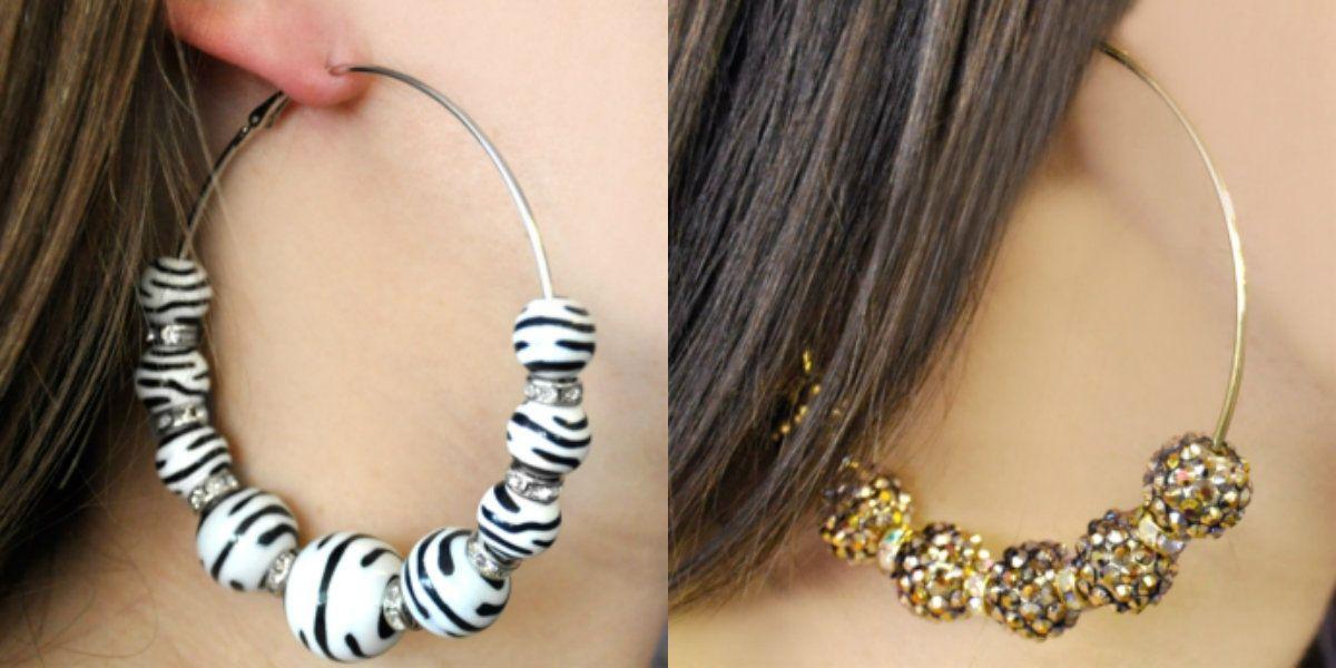 2 hopp earring designs 2016 (3) | How to Make Jewelry | Pinterest
