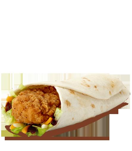Crispy Chicken Snack Wrap Bbq Snacks Snack Wrap Mcdonalds Food Menu