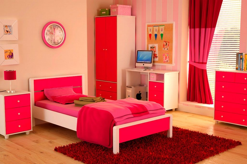 The Name Of This Visual Is Single Bed Designs For Teenagers It Is Literally Just One Of The Pink Bedroom Furniture Bedroom Furniture Sets Pink Bedroom Design