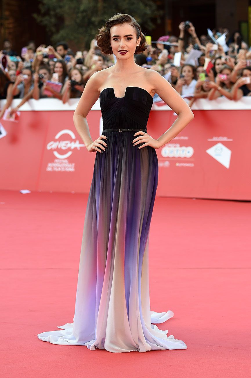 Who, Where, When | Lily collins, Elie saab y Couture