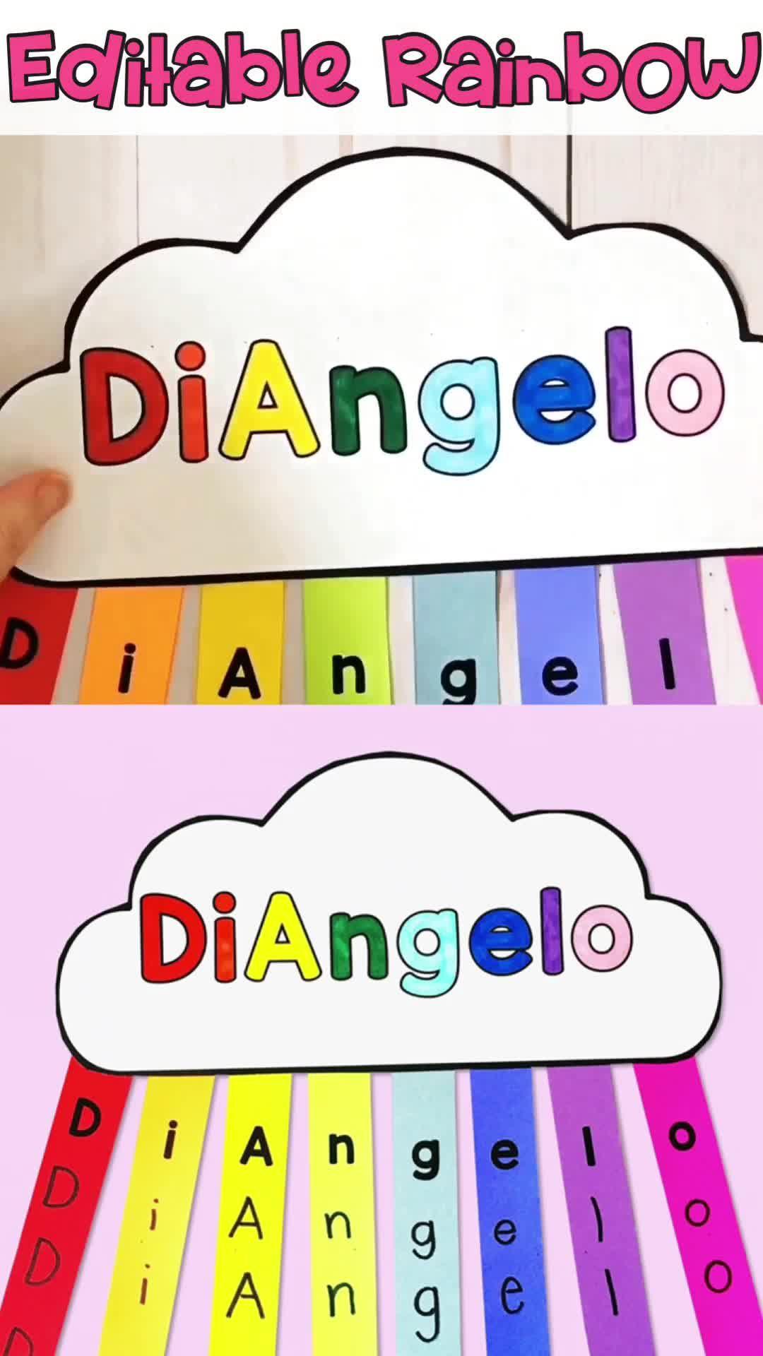St Patrick S Day Rainbow Craft Video Name Activities Preschool Preschool Names Kindergarten Names [ 1920 x 1080 Pixel ]