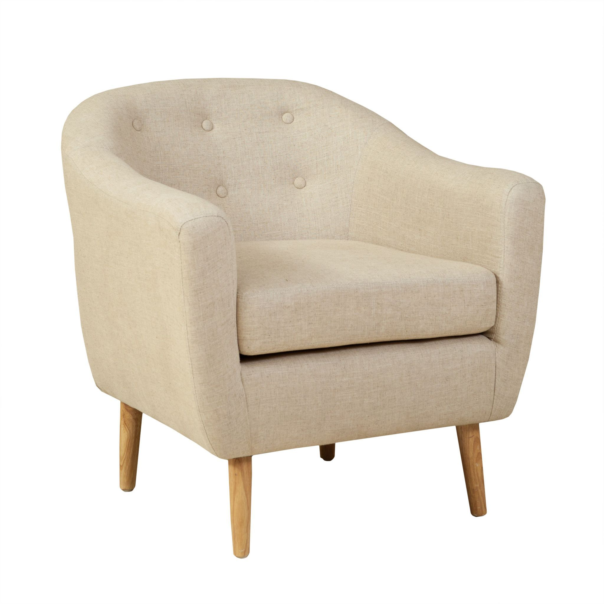Chicago Beige Club Chair Upholstered Chairs Club Chairs Chair