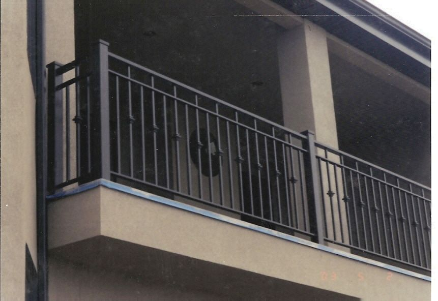 Iron deck railing visit 100s of deck railing ideas http for Balcony steel railing designs pictures