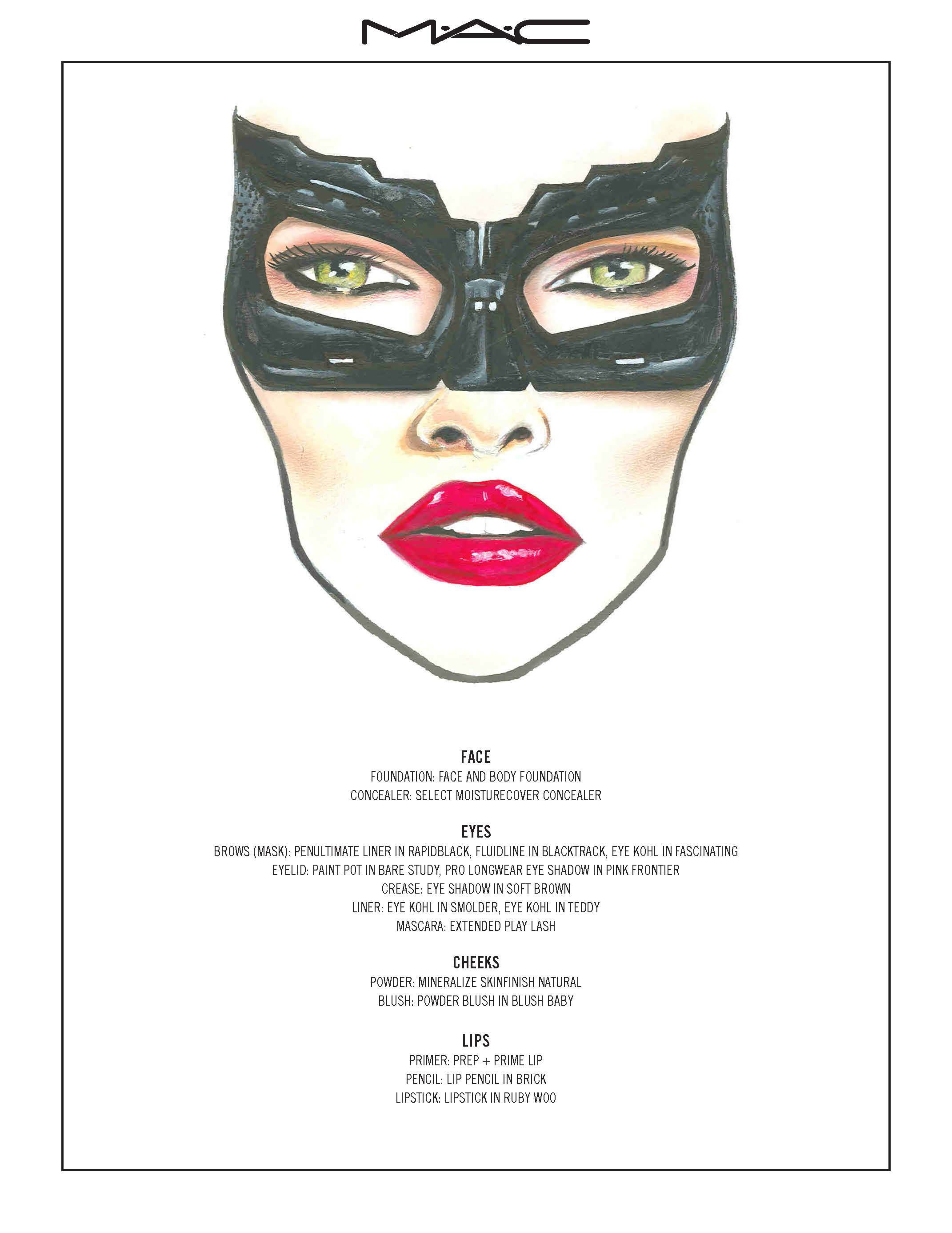 MAC-Cosmetics_CatWoman.jpg 2,142×2,772 pixels | Makeup, Hair And ...