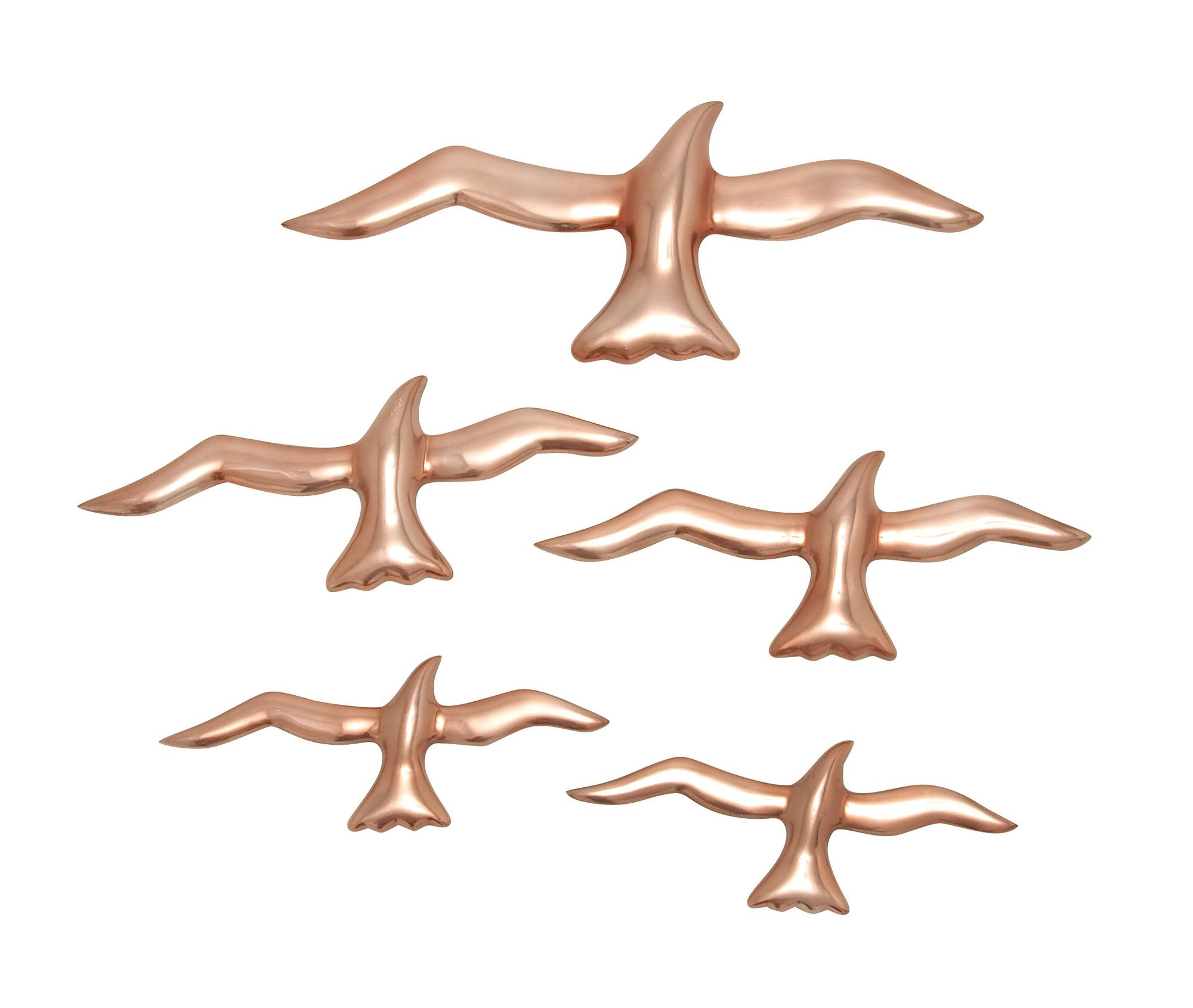 5-Piece Bird Decor Set