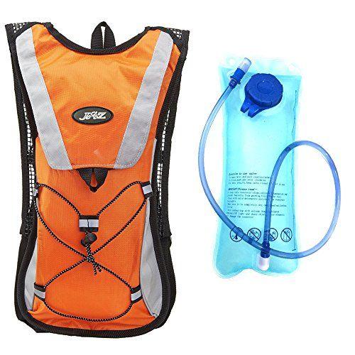 146adf315b [KuYou]Hydration Pack Water Rucksack Backpack Bladder Bag Cycling Bicycle  Bike/Hiking Climbing Pouch 2L Hydration Bladder,(Orange Water Pouch) -- See  this ...
