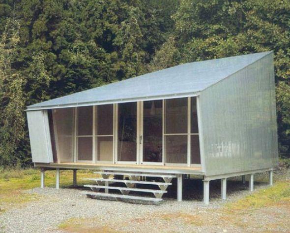Una combinación de materiales perfecta. Casa de Aluminio