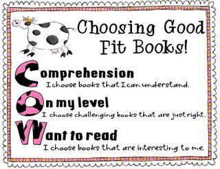 Choosing appropriate books
