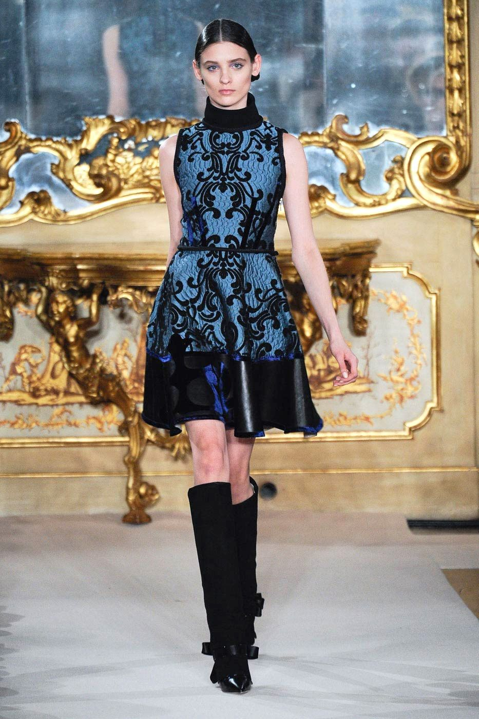 Runway Inspiration For Fall 2012 39 S Baroquely Ornate Fashion Trend Looks From Aquilano Rimondi