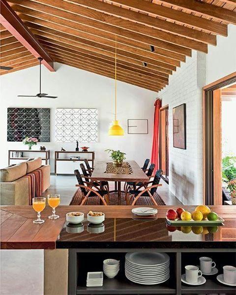 Vista Da Cozinha Americana Casadecampo Sweet Home Designs De