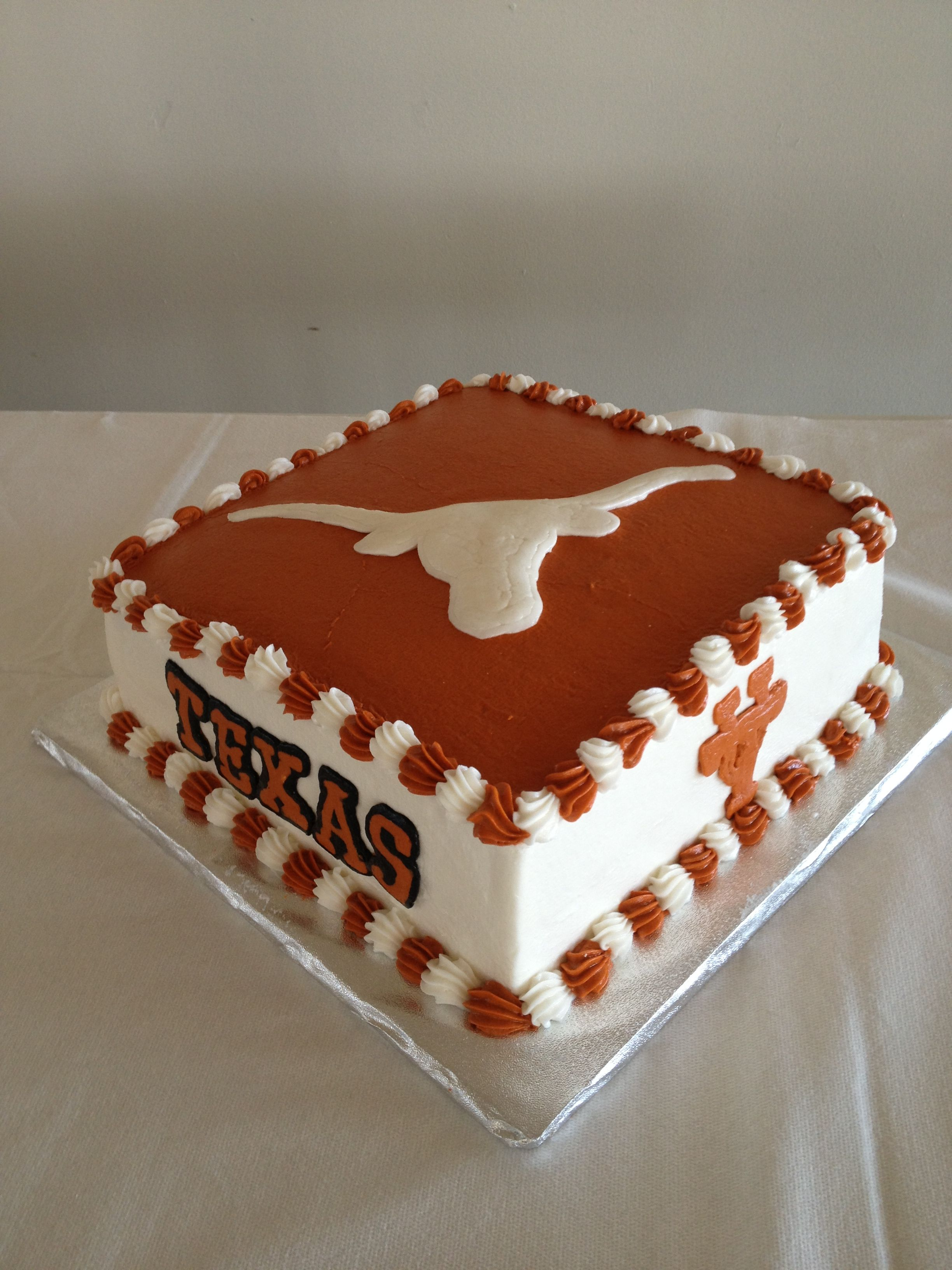 Longhorn Cake Decorations