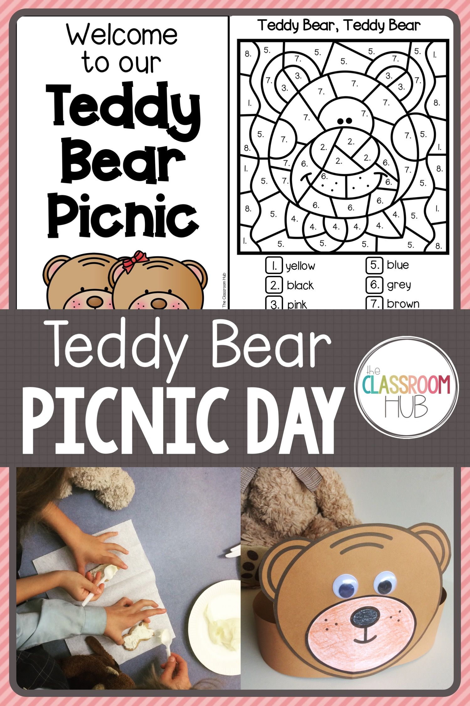 Teddy Bear Picnic Theme Day Activities