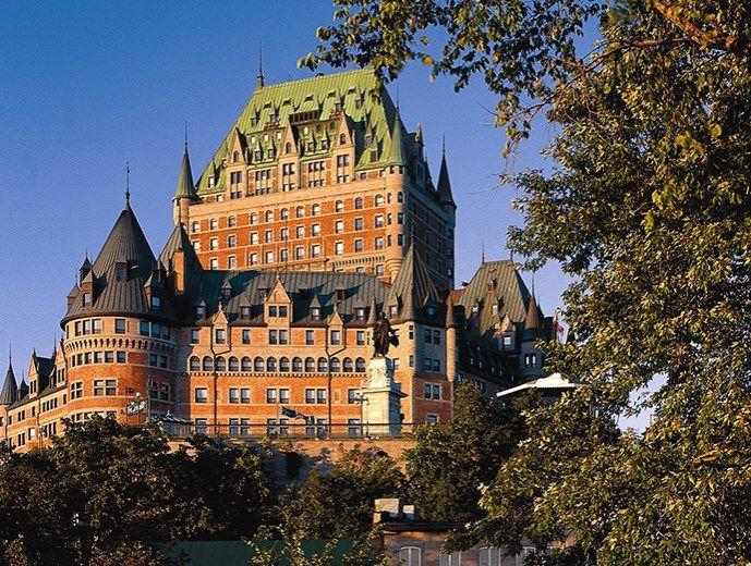 Fairmont Le Chateau Frontenac Hotels Quebec City And Area Frontenac Hotel Quebec City Quebec