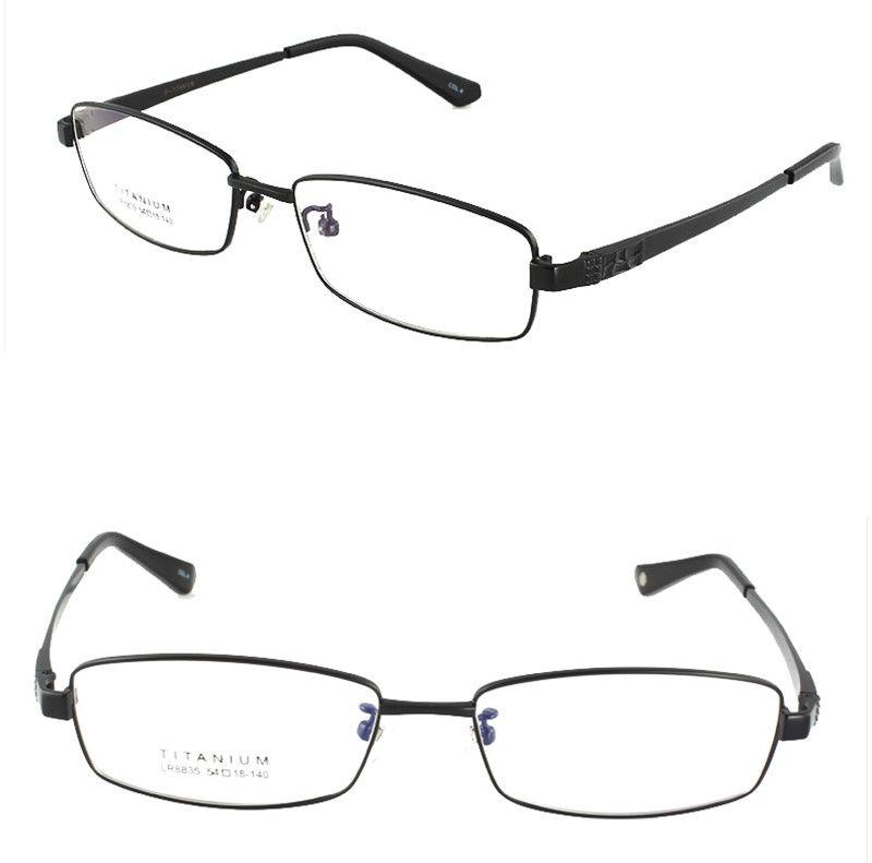 6d2e773d1e Agstum Womens Mens Pure Titanium Multi Colour Half Rimless Business Glasses  Frame Prescription Eyeglasses Clear Lens