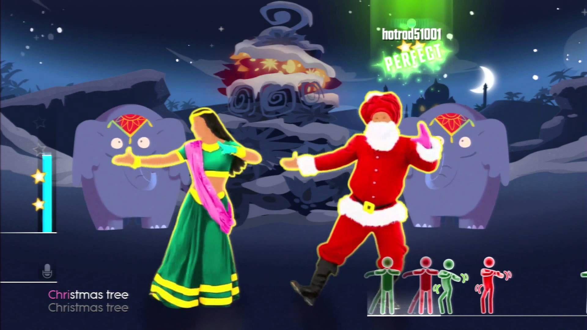 Just Dance 2015 Bollywood Santa Xmas Tree Just Dance Dancing Santa Dance