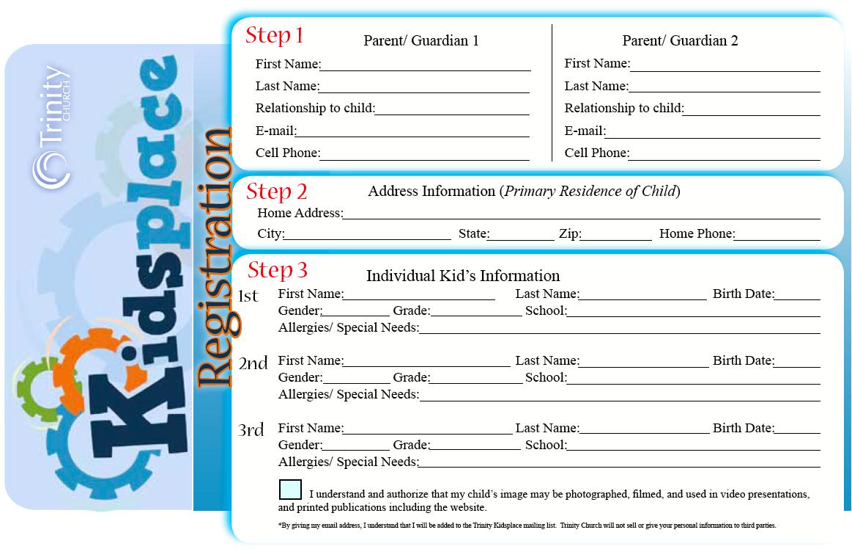 Registration Cards Childrens Ministry Online Children S Ministry Childrens Ministry Childrens Church
