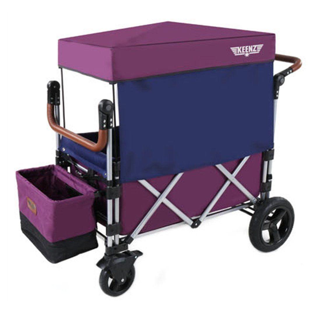 Keenz 7S Stroller Wagon Purple On Sale Kids wagon